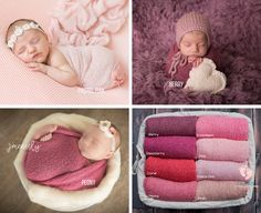 Pink Stretch Knit Wraps by Tiny Tot Prop Prop ~ Newborn Photo Props Newborn Posing, Newborn Photography Props, Newborn Photo Props, Newborn Session, Newborn Photographer, Baby Pictures, Baby Photos, Baby Wrap Newborn, Knit Wrap