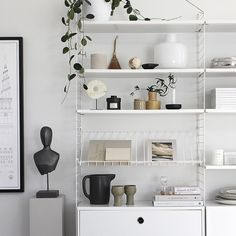 """1,906 Likes, 24 Comments - Michelle Halford (@thedesignchaser) on Instagram: """"Freshly styled #Shelves"""""""