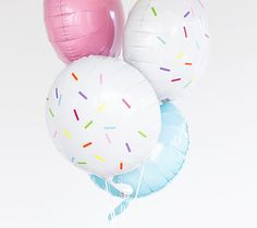 Sprinkle party balloons by Studio DIY. Make It Now in Cricut Design Space