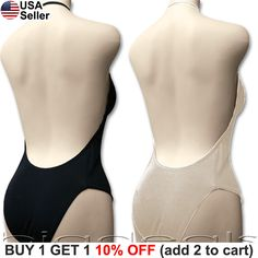 Backless Full Body Shaper Bikini Convertible Seamless Low Back Max Cleavage 9008   Clothing, Shoes & Accessories, Women's Clothing, Intimates & Sleep   eBay!