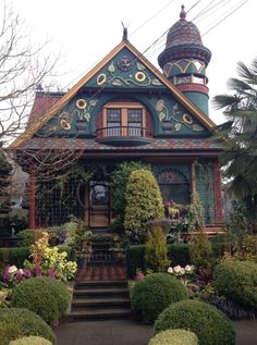 Victorian Architecture, Amazing Architecture, Classical Architecture, Beautiful Buildings, Beautiful Homes, Fantasy House, Witch House, House Goals, Victorian Homes