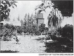 The Tustin Area Historical Society - City of Tustin Water Service - Water was stored in the tank atop this structure at the Willard Brothers Water Works at the corner of Main and Prospect. The high tower, called a tank house, offered a panoramic view of Tustin in 1887