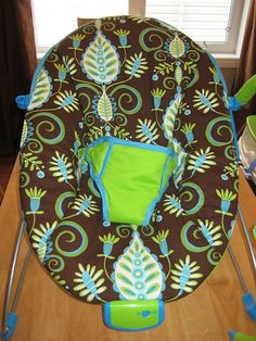 re-cover a bouncy seat