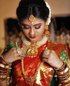 Bengali Wedding Hairstyles Bridal - Based on your venue agreement, there could be a few limitations with regards to the sort of decor it is possible to generate Bridal Makeup Images, Best Bridal Makeup, Indian Bridal Makeup, Bridal Beauty, Bengali Makeup, Wedding Makeup, Asian Bridal, Bride Makeup, Marathi Bride