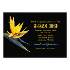 >>>Are you looking for          Bird of Paradise Black Beach Rehearsal Dinner Personalized Invitation           Bird of Paradise Black Beach Rehearsal Dinner Personalized Invitation We provide you all shopping site and all informations in our go to store link. You will see low prices onHow to ...Cleck link More >>> http://www.zazzle.com/bird_of_paradise_black_beach_rehearsal_dinner_invitation-161311982428776682?rf=238627982471231924&zbar=1&tc=terrest