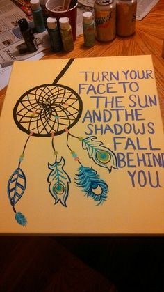 Christmas/Birthday present for my best friend! This would be really cute if only the back ground was sun yellow