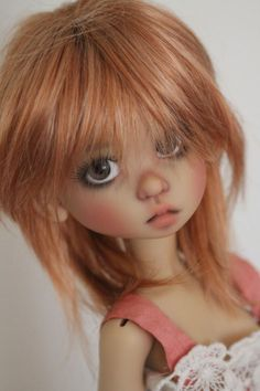 JpopDolls.net ™::Dolls::Kaye Wiggs Dolls::Gracie::Gracie Human in sunkissed skin on Tobi body