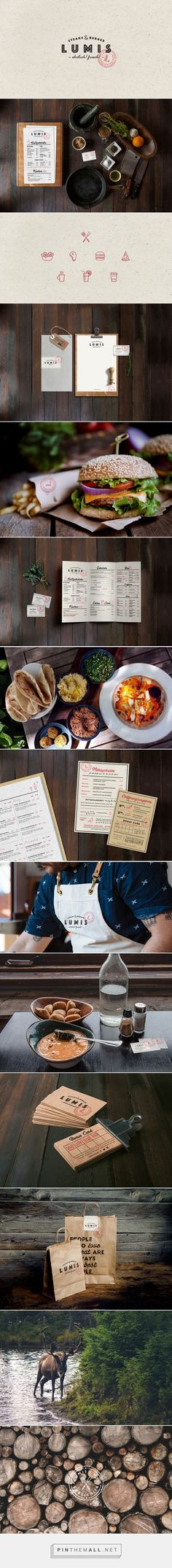 Lumis Restaurant Branding and Menu Design by Daria Po | Fivestar Branding Agency – Design and Branding Agency & Curated Inspiration Gallery