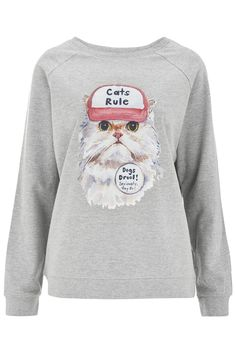 Cats Rule Sweater