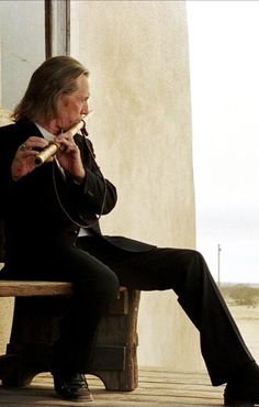 David Carradine as Bill in Kill Bill Vol. 2. Always makes me tear up, truth be told.