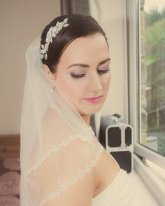 """Sarah""   As featured on http://www.mrspandp.com/real-wedding-features/an-elegant-nottingham-wedding-at-goosedale-with-beautiful-accents-of-cadbury-purple/  An elegant Nottingham Wedding at Goosedale with beautiful accents of Cadbury purple"