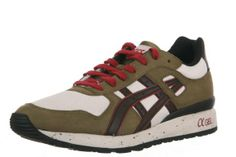 Amazon.com: Asics - Mens Sportstyle Gt-Ii Shoes In Olive/Dark Brown, Size: 7 D(M) US Mens, Color: Olive/Dark Brown: Shoes