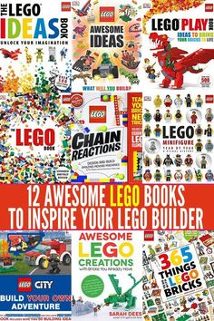 Inspire your child's creativity with this fabulous collection of Lego ideas books.