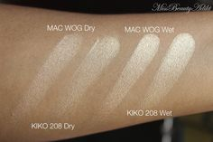 Miss Beauty Adikt | Makeup and Beauty Blog | YazMakeUpArtist: MAC Whisper Of Gilt Dupe