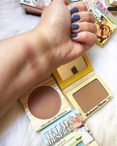 Bahama mama & Balm desert by The Balm