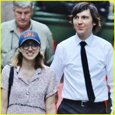 Zoe Kazan Visits Paul Dano on Okja Set in Vancouver