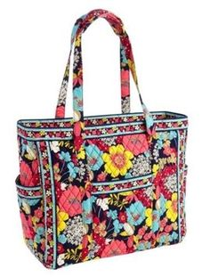 67683c983270 Vera Bradley Get Carried Away Tote Sold Out Everywhere Happy Snails Cotton  Weekend Travel Bag 26% off retail