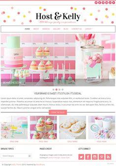confetti wordpress theme - Google Search