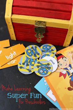 Make Learning Fun For Preschoolers {& A Cute Craft}  #Ready4Preschool