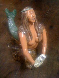 Esculturas em cerâmica feitas por mim