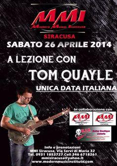 Tom Quayle Guitar Clinic 26/04/2014 | MusicOff
