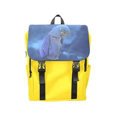 Hyacinth Macaw Casual Shoulders Backpack. FREE Shipping. FREE Returns. #lbackpacks #parrots