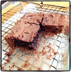 Ricki Heller's Carob Brownies (with Allergic Solution baking mix): Place 1 full bag of Carob Cake Mix in a bowl. In a small bowl whisk together ¼ c. smooth (unsweetened) sunflower sd. butter, ¼ c. melted coconut oil, ¾ c. unsweetened almond milk, 2 t. pure vanilla, 6 T coconut sugar and ¼ c. coconut nectar. Pour the liquid mix over the dry and stir by hand, then stir in ½ c. unsweetened carob chips. Spread in an 8x8 inch pan & bake at 350 F for 25 min. till still moist but not wet in the middle.