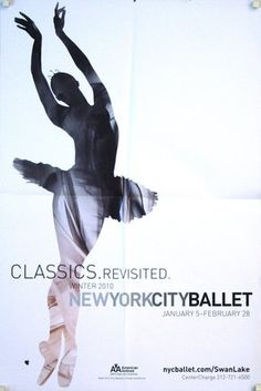 new york city ballet posters vintage - Vintage Poster Designs Old Movie Posters, Cool Posters, Vintage Posters, Poster City, Poster On, Design Poster, Poster Designs, Ballet Drawings, Ballet Posters
