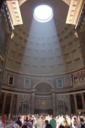 Oh my...the Pantheon.