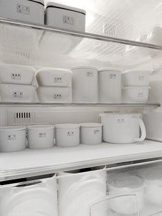 冷蔵庫内をキレイに収納するアイデア*iemo
