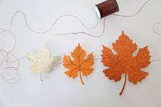 diy paper leaves - Google Search