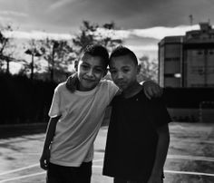 Shooting at Valence with two young boys that loved playing soccer. #blackandwhite