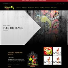 Feed the Flame with Overkill Hot Sauce - website by #2friendsdesigns * Contact Lisa @2FD for all your website and logo needs. We offer special incentives for Shopify and Sezzle.  Talk to US before you sign up! 541.654.4199