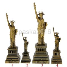 The Statue Of Liberty Model Home Decor Metal Crafts Furnishing Articles Souvenir