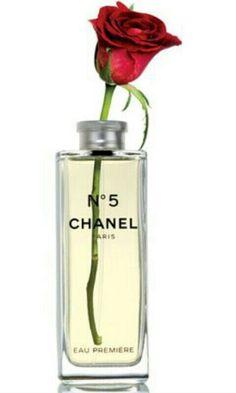 Chanel 5 jarrón