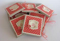 zeit-zum-basteln.de -  Anleitung Teebeutel-Verpackung mit Stampin Up - Calypso Designerpapier und Stempel Nettiketten