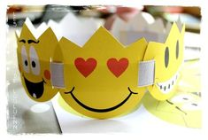 Une couronne de roi avec des Smileys à télécharger.