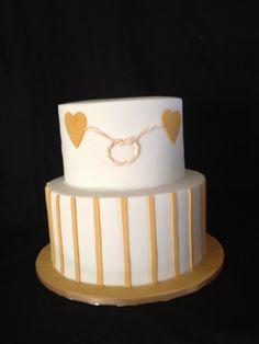 Golden Anniversary cake.