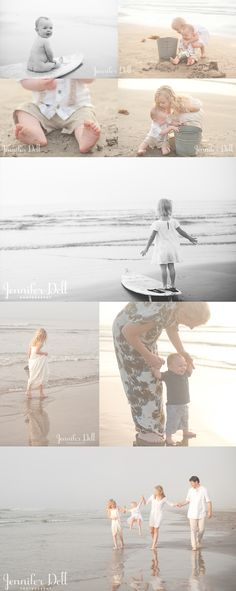 © jennifer dell photography - beach photography Love this! Photography Beach, Children Photography, Family Photography, Family Beach Pictures, Beach Photos, Family Pics, Family Photo Sessions, Family Posing, Beach Sessions