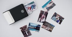 Prynt is a smartphone case that instantly prints photo like an instant camera. It comes with a built-in photo printer so you can print photo from your Diy Phone Case, Cool Phone Cases, Iphone Cases, Smartphone, Digital Foto, Moving Photos, Samsung Galaxy, Instant Camera, Photo Printer