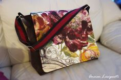 messenger bag Messenger Bag, Handmade, Bags, Handbags, Hand Made, Bag, Totes, Handarbeit, Hand Bags