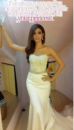 Shemale wedding dress