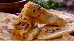pan marroqui con salsa chermoula