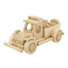 Wooden Off Road Car - Axel