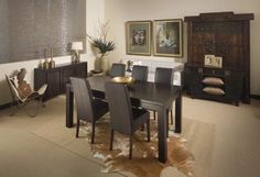 Ubud Dining Suite with Scott Chairs