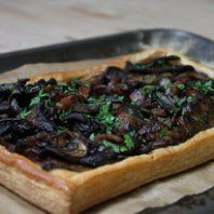 Gill's mushroom, pastry and pancetta recipe