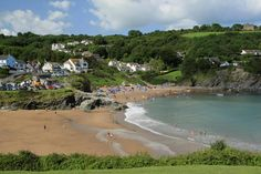 Aberporth Beach, West Wales - #dogfriendly beach restrictions: 1st May - 30th September