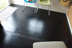 1000 images about painted subfloor ideas on pinterest for Liquid lino floor paint