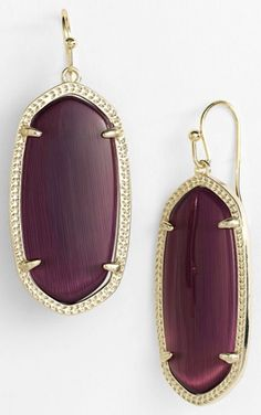 | Modest Maintenance | grape drop earrings  http://rstyle.me/n/qxyhepdpe
