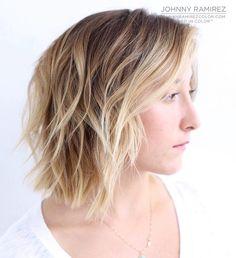 """Lived in color™ Hair color by Johnny Ramirez Hair cut by Mr. @buddywporter #livedincolor #livedinblonde #livedinhaircolor #beautiful #beautifulhair…"""